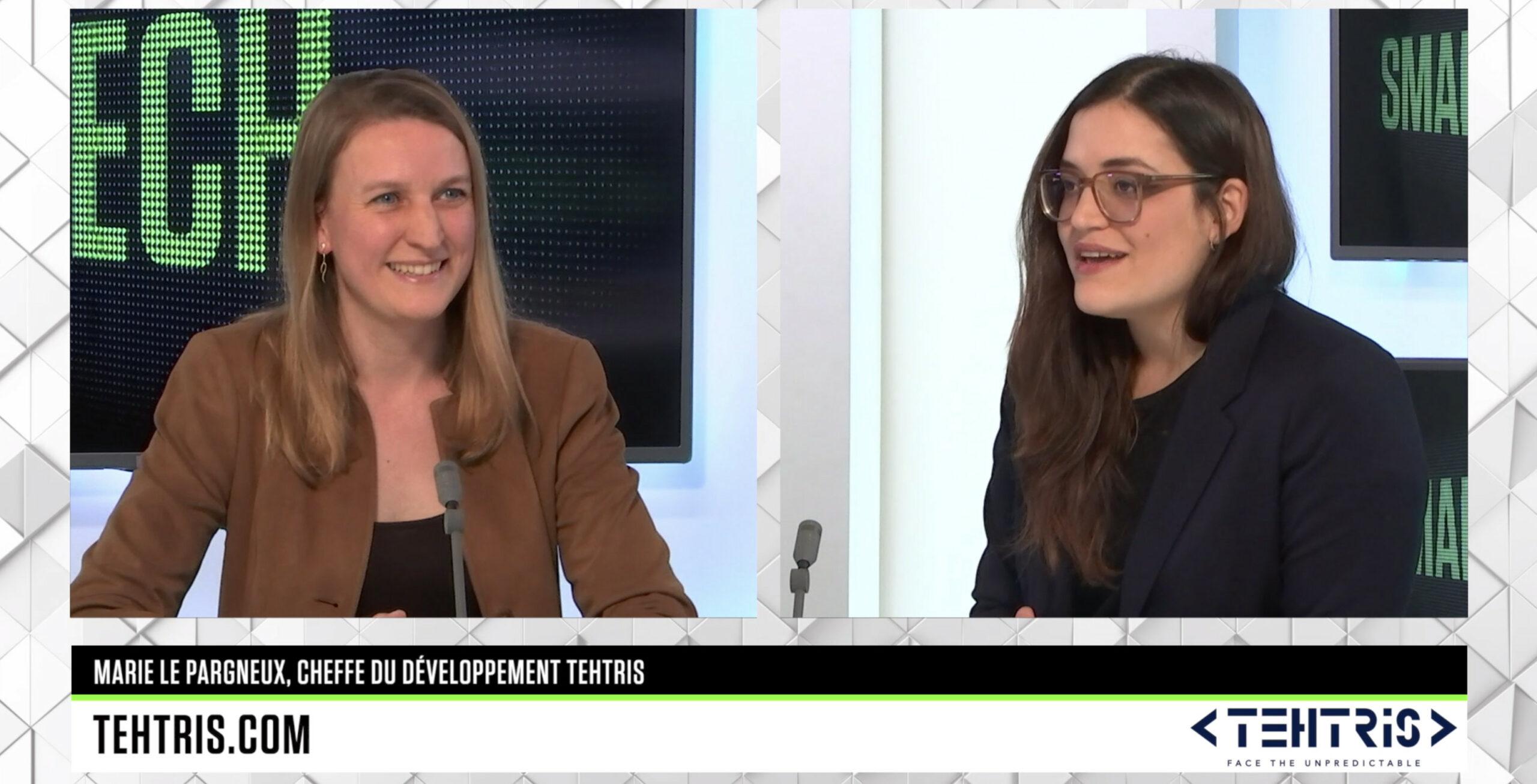 Marie Le Pargneux sur B SMART pour TEHTRIS
