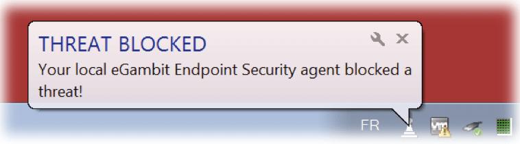 Threat Blocked eGambit