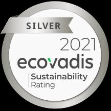 TEHTRIS a la médaille d'argent Ecovadis 2021
